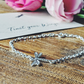 "Silver Dragonfly Bracelet ""Trust your wings.."""