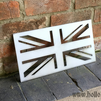Union Jack steel sign classic metal British flag UK GB Home wall decor