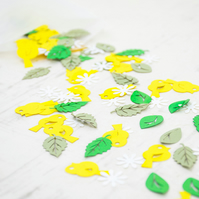 Easter Papercut Confetti - Easter Decorations - Easter Decor - Spring Confetti -