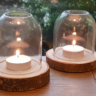 Upcycled Dome Tealight Holder