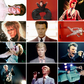 David Bowie Postcard Sized Prints - Set Of 12