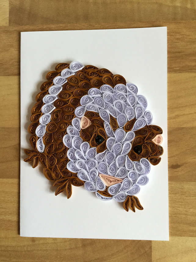 Guinea Pig Card, this little piggy can't wait to cheer up someone.