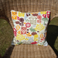 Woodland Cushion: Free Delivery - Wildlife, Owl, Squirrel, Rabbit