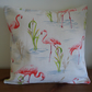 Flamingo Cushion - Free Delivery