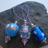 3 Knitting Stitch Markers