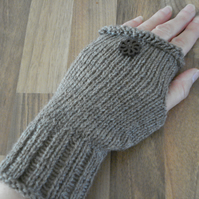 Wrist Warmers, Fingerless Mittens