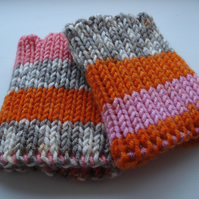 Cosy Wristwarmers, Double Thickness Wrist Warmers