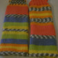 Legwarmers, Cheerful Fair Isle Effect