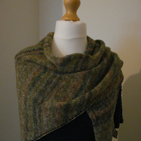 Scarf, Wrap, Shawl, Knitted Scarf