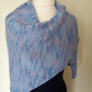 Hyacinth Scarf, Knitted Scarf, Wrap
