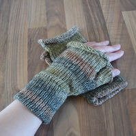 Fingerless Mittens, Fingerless Gloves