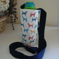 Water Bottle Carrier, Dogs, Bottle Holder, Bottle Bag, Pouch