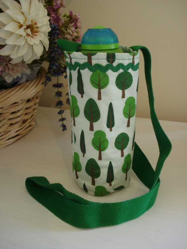 Water Bottle Holder, Trees - Child size