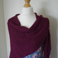 Alpaca Wrap, Shawl, Cover up