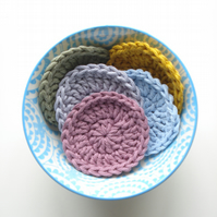 3 Reusable Face Wipes
