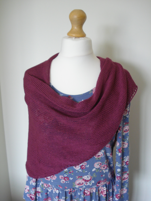 Bamboo Summer Wrap, Shawl, Stole, Bridesmaid
