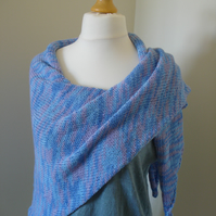 Hyacinth Wrap, Shawl, Stole, Cover up