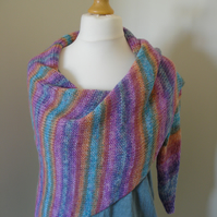 Sunset Wrap, Shawl