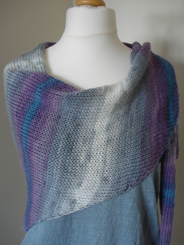 Winter Sky Shawl, Wrap, Scarf