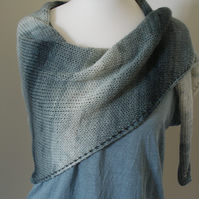 Knitted Scarf, Wrap, Shawl