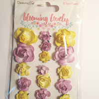 Dovecraft Blooming Lovely Paper Flowers