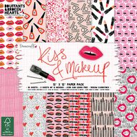 Dovecraft Kiss and Makeup 12x12 Paper Pack
