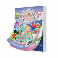 The Little Book of Little Dudes & Perfect Princesses - Craft Papers