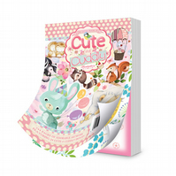The Little Book of Cute and Cuddly - Craft Papers