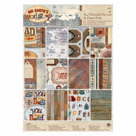 A4 Die-cut & Paper Pack - Mr Smith's Workshop