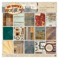 Mr Smith's Workshop - 12x12 Paper Pack