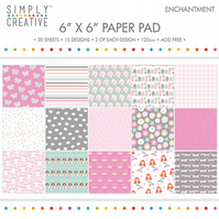 Simply Creative - Enchantment 6x6 Paper Pad