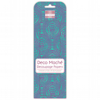 First Edition Deco Mache - Blue Decorative