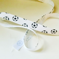 Football Grosgrain Ribbon