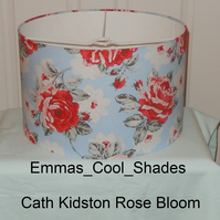 New Handmade Table Lampshade Cath Kidston Rose Bloom 30cm Drum