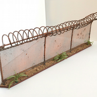 Chain-linked Fence War Gaming Scenery