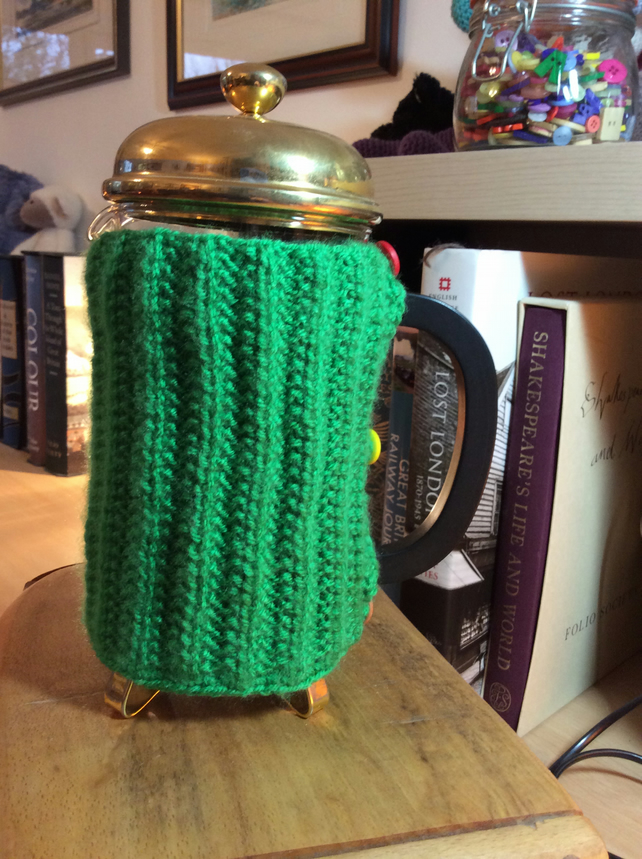 Cafetiere cosy.coffee pot cover.1 litre