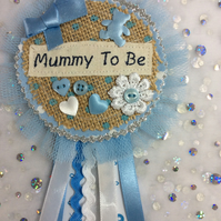 Mummy To Be Rosette