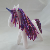 Felt unicorn - Custom made to order