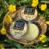 Beeswax Hand Salve - May Chang - Neve's Bees - 30ml tin