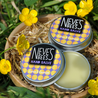 Beeswax Hand Salve - Lavender and Lemon - Neve's Bees - 30ml tin