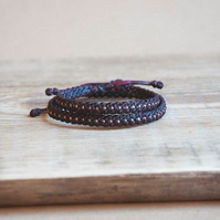 Copper couple bracelets. Waterproof, adjustable, custom Friendship bracelets.