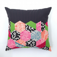 Hexie Brights Cushion
