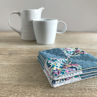 Liberty Print Fabric Coasters