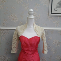 Cream Bolero for Special occasions