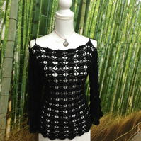 Handmade Black Top