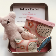 Ted in a Tin Bed