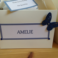 Personalised wedding activity boxes