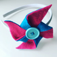 Children's Pinwheel Hairband - made to order in your choice of colours!