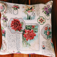 Flowers Floral Cushion