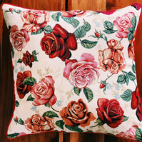 Roses Floral  Cushion